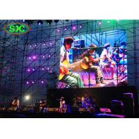 Buy cheap High Resolution P6 Stage Led Panels Module 384*192mm / SMD Curtian LED Display from wholesalers