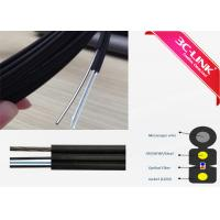 China FTTH Self Supporting Fiber Optic Ethernet Cable Bow Type Drop Cables For Access Network on sale
