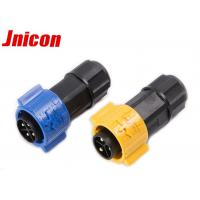 China Solder Wire IP67 Circular Power Connector 20A 300V With Male And Female Plug wholesale