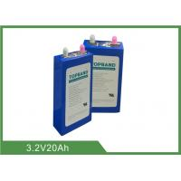 Quality 20Ah 3.2V Rechargeable LiFePO4 Battery Pack High Rate UL UN38.3 IEC62619 for sale