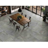 China Antique 3D Inkjet Marble Modern Grey Floor Tiles Matte Finished Stain Proof on sale