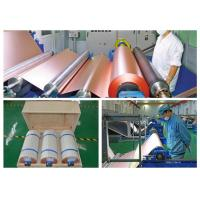 China 70um Electrolytic PCB Copper Foil 3 / 6 Inch Roll Internal Diameter wholesale