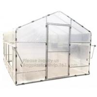 China Agricultural Glass Green House for Commerical,Pop up Greenhouse Eco-friendly Fiberglass Poles Overlong Cover 98x49x53 wholesale