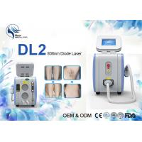 China Portable Permanent 808nm Diode Laser Hair Removal Machine 500 W 1-10hz wholesale