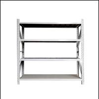 China Customized Column And Beam Garage Storage Shelves , Light Duty Racking System wholesale