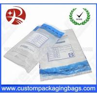China Security Custom Packaging Bag Pockets Sequential Number For Mailing on sale