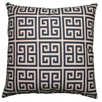 China Navy Blue Polyester / Fleece Pillow Cushion Covers Couch Throw Pillows Decorative Pillows wholesale