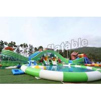 China Fun Outdoor Amusement Park Inflatable Water Parks For Adults And Childrens wholesale