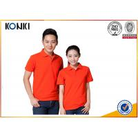 China Cotton / Polyester Golf Polo Shirt Knitted Mens Custom Printed Polo Shirts wholesale