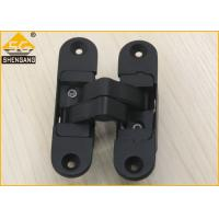 China 180 Degrees Zinc Alloy 3D Adjustable Concealed Hinge For Swing Door wholesale