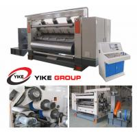 China Single Facer Flute Cardboard / Corrugated Cardboard Production Line Electric Driven Type wholesale