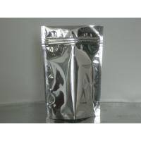 China Custom Stand Up Metalized Foil Stand Up Pouches With Press / Slider Zipper wholesale