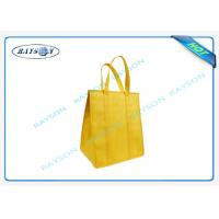 Quality eco promotional long handle pp non woven cooler bag with zipper for sale