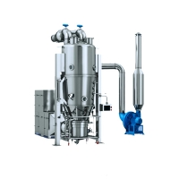 China FL Series Vertical Fluid Bed Dryer And Granulator on sale