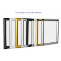 China Aluminium A3 Snap Lock Frames Lockable 36*25*48 Cm For Advertising Decrolation wholesale