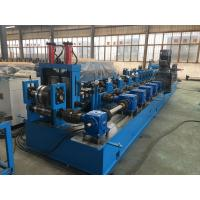 China 2 - 4mm thickness Solar Roll Forming Machine with hydraulic Decoiler wholesale
