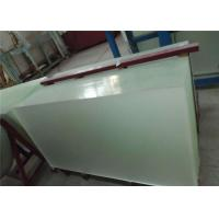 China 3.2mm Thickness Photovoltaic Transparent Glass , Low Iron Patterned Solar Tempered Glass wholesale