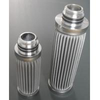 China Stainless steel folding filter elements sintered metal filter cartridge for liquid industry wholesale