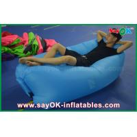 China 3 Season Fabric Custom Inflatable Products Lounge Airbed Printed Air Couch on sale