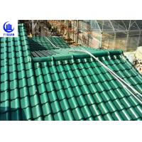 China Upv Asa Coated Colonial Times Synthetic Spanish Roof Tiles / Plastic Tile Roof Panels wholesale