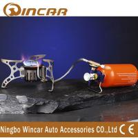 China Outside Mini Stainless Steel Stove Grill Stove Aluminum Alloy Camping Picnic Burner wholesale