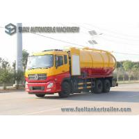 Buy cheap Dongfeng 15000L 10 Wheel Vacuum Tank Truck 270hp High Pressure Cleaning And from wholesalers
