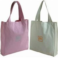 China Durable Stamping Printed Canvas Gift Shopping Bags for promotion 10 x 16cm wholesale