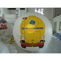 China White PVC Large Printed Helium Balloons with UV protected printing for Opening event wholesale