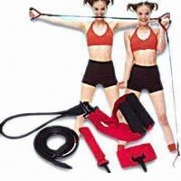 China Maxcare Sports Expander with EVA Handles and 118cm Long Elastic Band wholesale