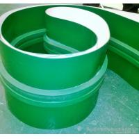 China 3mm Green PVC Conveyor Belt Smooth Glossy Food Grade High Temperature Conveyor Belt wholesale