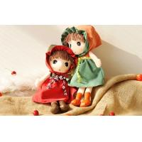 China 25CM cloth dolls plush toys Unusual Holiday Gift , OEM Lovely Girl Stuffed Doll wholesale