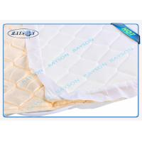 China 22gram White Color Spunbond + Spunbond SS Non Woven Fabric For Mattress Quilting wholesale