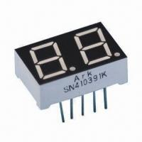 China 0.39-inch Dual-digit 7 segment LED Display, Suitable for Numeric Indicators for Controller Display wholesale