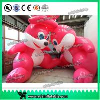 China 3m Giant Decoration Easter Inflatable Bugs Bunny/ Pink Inflatable Rabbit wholesale