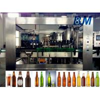 China Soda Water / Beverage Filling Equipment , 500ml Industrial Filling And Capping Machine wholesale