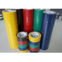 China Strong Adhesion Heat Shrink Electrical Tape PVC Insulation Tape 0.115MM Thickness wholesale