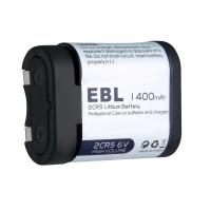 China 6 Volt  Photo Lithium Battery EBL 2CR5 High Energy Density 34.0 × 16.7 × 45.0mm wholesale