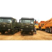 China 4×4 Heavy Cargo Trucks / Military Cargo Truck All Wheel Drive Model ZZ2167M5227 wholesale