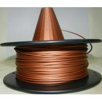 Buy cheap Metal Copper Filament 1.75 3.0mm Metal 3d Printing Filament Natural Copper Filament from wholesalers