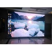 Quality P16 Indoor Full Color Led Display Advertising , Ultra Thin Led Screen Video Wall for sale