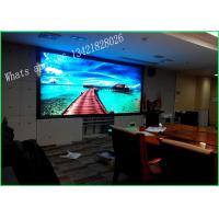 China P3 Rental RGB Stage LED Screen , Stage Video Screens Full Color Waterproof wholesale