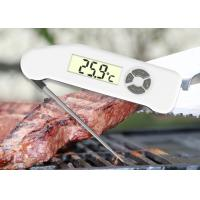 China Recalibrated Waterproof Digital Food Thermometer Fast Reaction For Meat Grilling wholesale