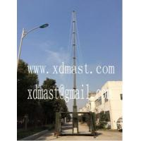 China 20m heavy duty telescoping telecommunication antenna tower mast in shelter and mobile shelter antenna tower wholesale