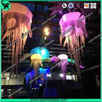 China 1m Stage Inflatable Lighting Led Decoration,Inflatable Jellyfish for Party wholesale