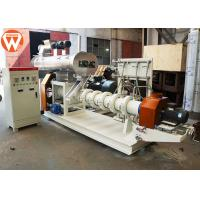 China Boiler Fish Feed Processing Machine , Wet Type Floating Fish Feed Making Machine wholesale