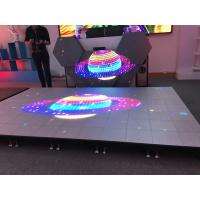 Buy cheap Show Stage Special Design P6.25 Interactive Led Floor Support Video Full Color from wholesalers