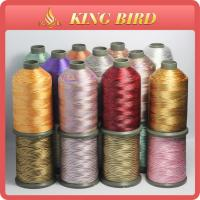 China Variegated Polyester Brother Embroidery Threads 108D/2 With Quilting wholesale