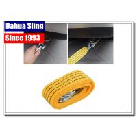 China Lightweight Flat Recovery Tow Straps With Hooks Multifunctional wholesale