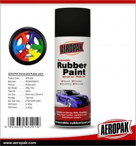 China AEROPAK 400ml Rubber Paint for car color change wholesale