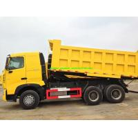 China 6x4 A7 Sinotruk 10 Wheel Dump Truck 20m3 Front Lifting U Type Conatiner For 40-50t Load wholesale